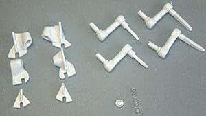 ロシア KV-2用可動サスペンションキット(トランペッターモデル用) 1/35レジン改造キット  Russia(Soviet)  KV-2 Movable suspension for Trumpeters   1/35 Resin cast Conversion kit