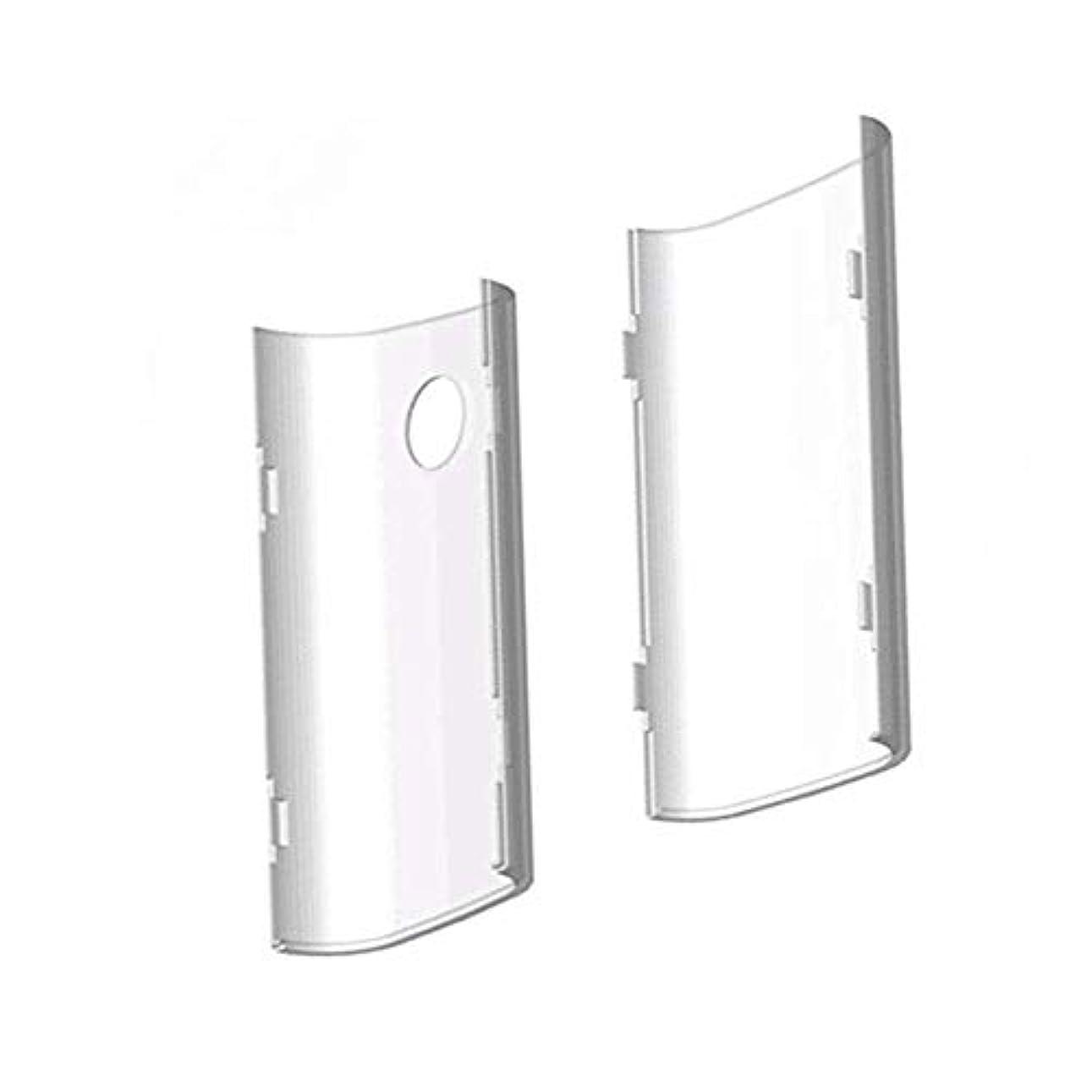 想像する先入観知覚的Roman Center glo グロー ケース GLOカバー クリアケース 電子タバコ 専用 透明クリアハードケース 薄型 (透明)