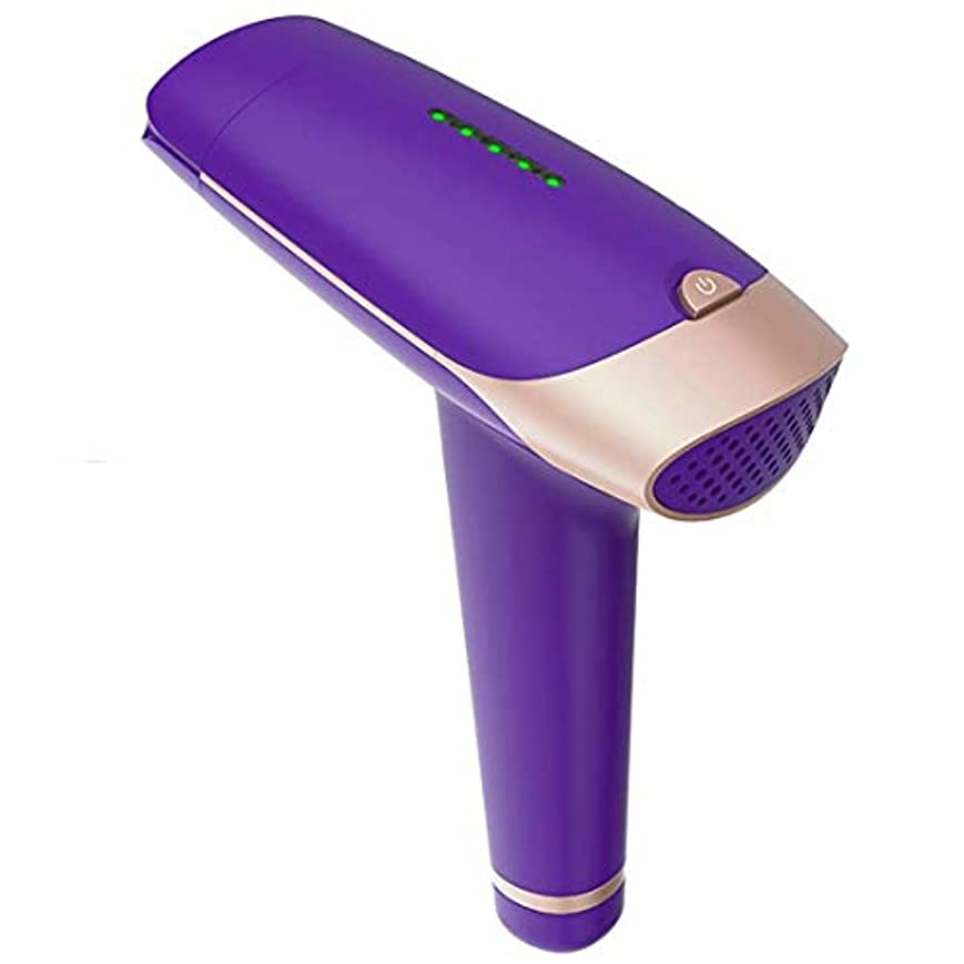 フローテストきれいにTrliy- 紫色のlpl脱毛システム、プロフェッショナルライト痛みのないレーザー脱毛器永久的な脱毛装置用男女ボディフェイスビキニ