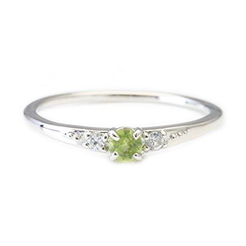 [ココカル]cococaru ダイヤモンド リング シルバー Silver925 指輪 ピンキーリング 天然 ダイヤ 日本製