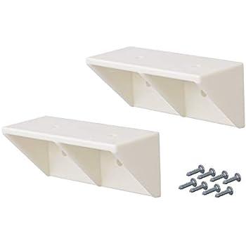 平安伸銅工業 LABRICO DIY収納パーツ シェルフサポート 棚受 DXO-52 オフホワイト 2個入