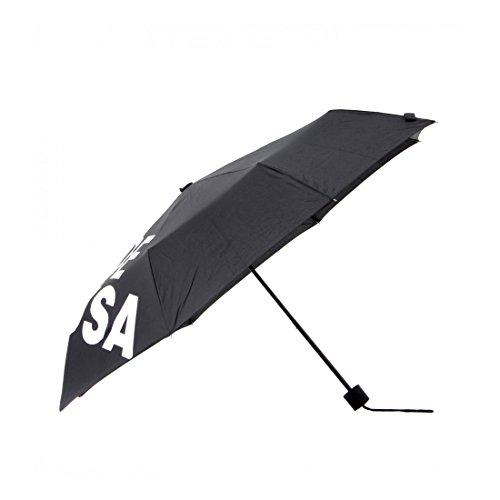 [ディーシーシュー] DC SHOE 折りたたみ傘 大きい 丈夫 おしゃれ ブランド 8本骨 スケーター かっこいい ロゴ 大きめ 傘 メンズ レディース 丈夫 黒