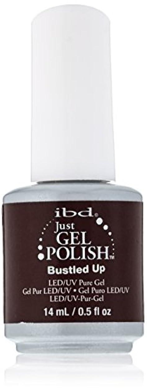 褐色シエスタおっとibd Just Gel Nail Polish - Bustled Up - 14ml / 0.5oz