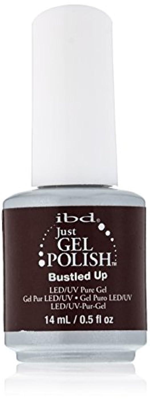 ゆり鋸歯状失業者ibd Just Gel Nail Polish - Bustled Up - 14ml / 0.5oz