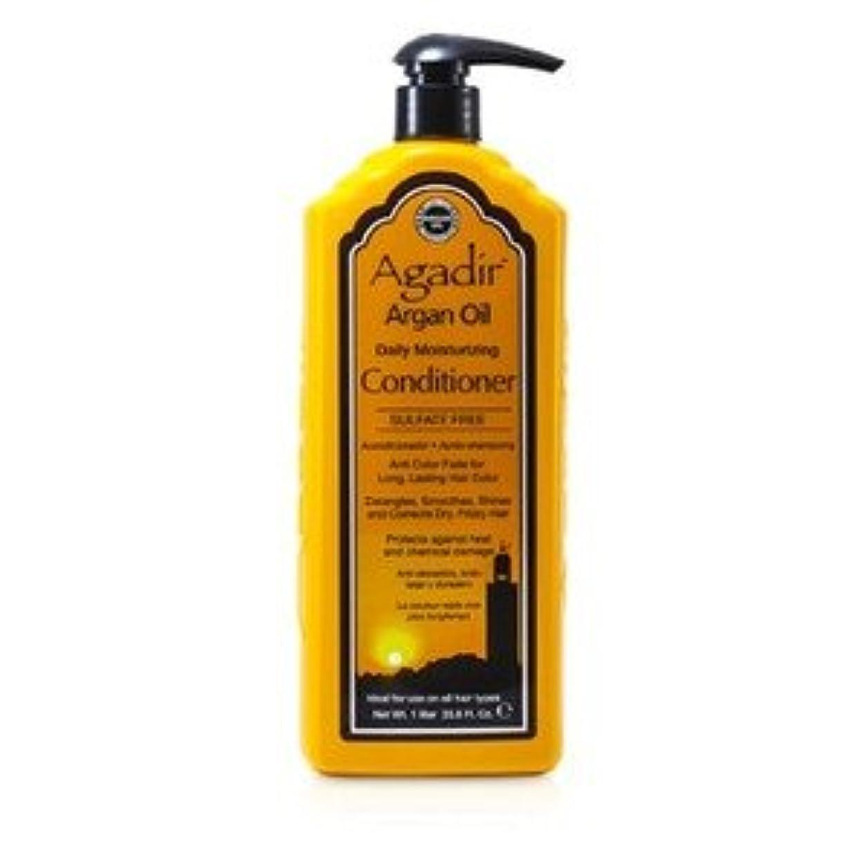 エントリインタフェース平和的アガディール(Agadir) デイリー モイスチャライジング コンディショナー(全ての髪質へ) 1000ml/33.8oz [並行輸入品]