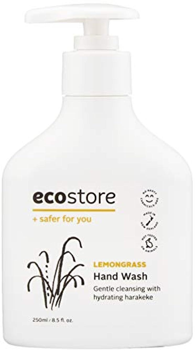 混合したほこりどこでもecostore(エコストア) ハンドウォッシュ 【レモングラス】 250ml 液体タイプ