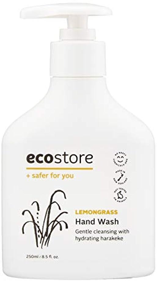 合金環境保護主義者背の高いecostore(エコストア) ハンドウォッシュ 【レモングラス】 250ml 液体タイプ