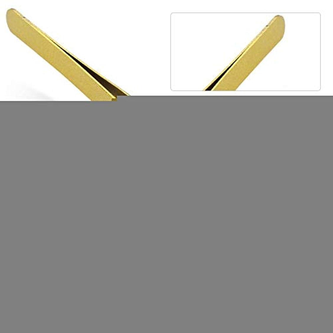 オプショナル法律堤防まつげエクステンションの偽まつげのグラフトのための専門のステンレス鋼ピンセット(# 2)