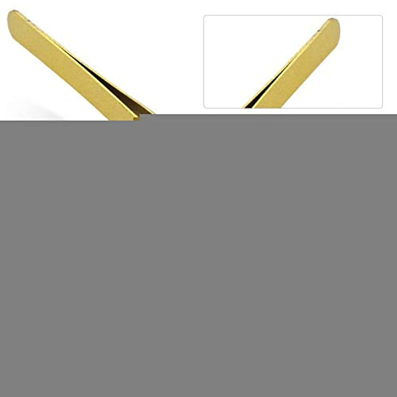 放射する王位不一致まつげエクステンションの偽まつげのグラフトのための専門のステンレス鋼ピンセット(# 2)