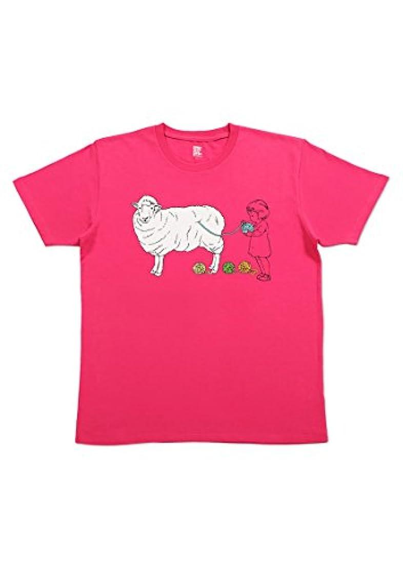 枕文明化ロータリー(グラニフ) graniph Tシャツ ボールオブウール (アザレア) メンズ レディース