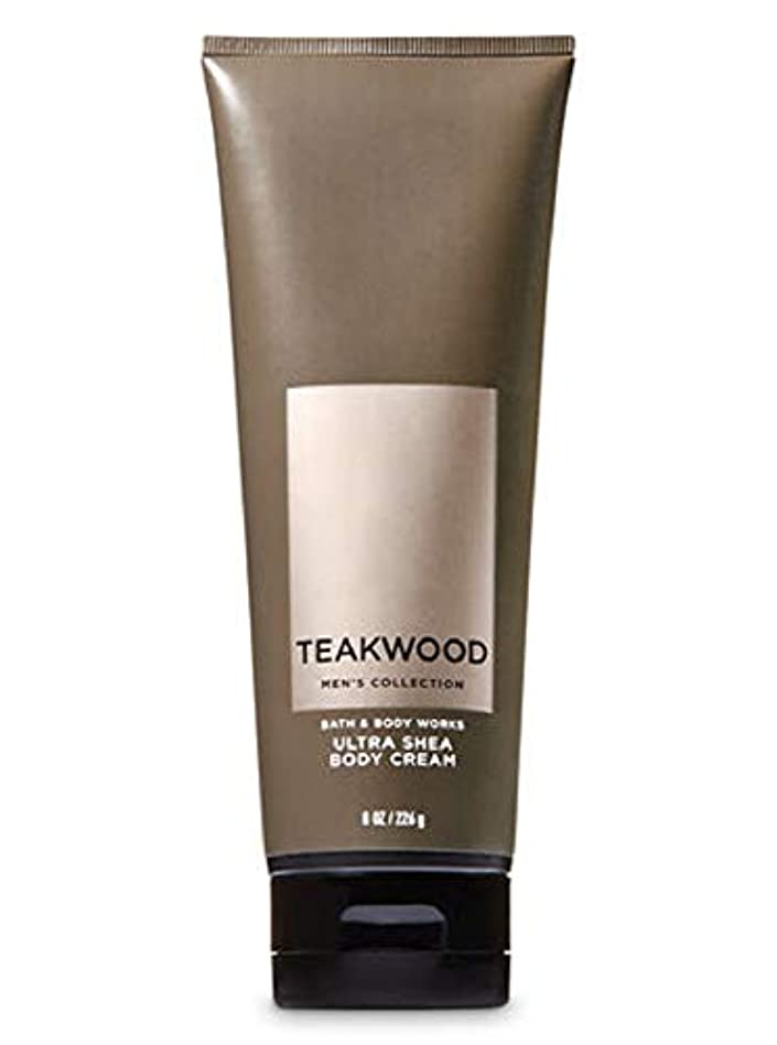 混乱した書誌故障【並行輸入品】Bath & Body Works Men's Ultra Shea Body Cream in TEAKWOOD 226 g