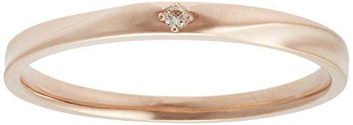 [ブルーム] BLOOM K10 ピンクゴールド ダイヤモンド ペアリング AGRP20133909 日本サイズ9号