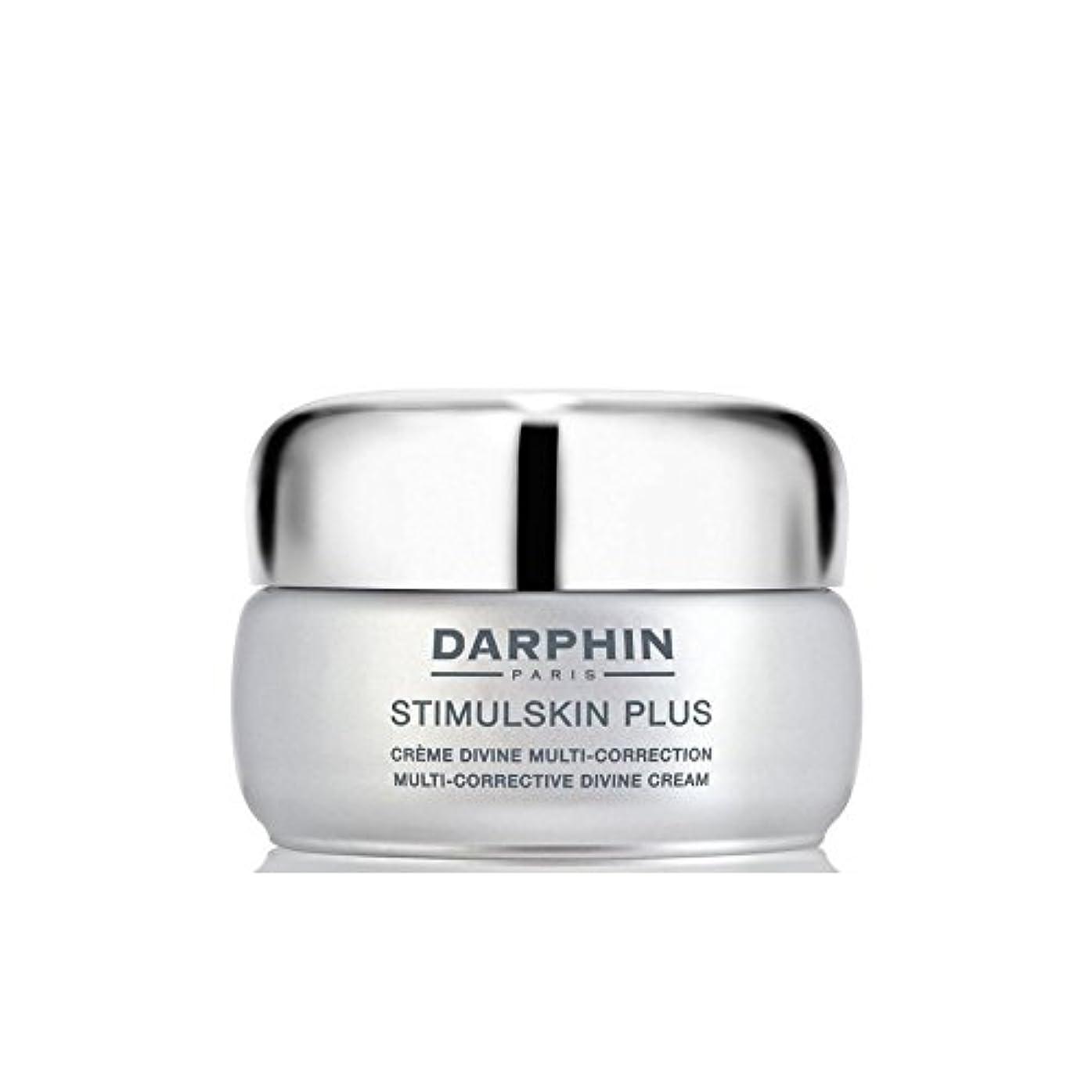 影響力のあるバンカー引き受けるDarphin Stimulskin Plus Multi-Corrective Divine Cream - ダルファンスティプラスマルチ是正神のクリーム [並行輸入品]