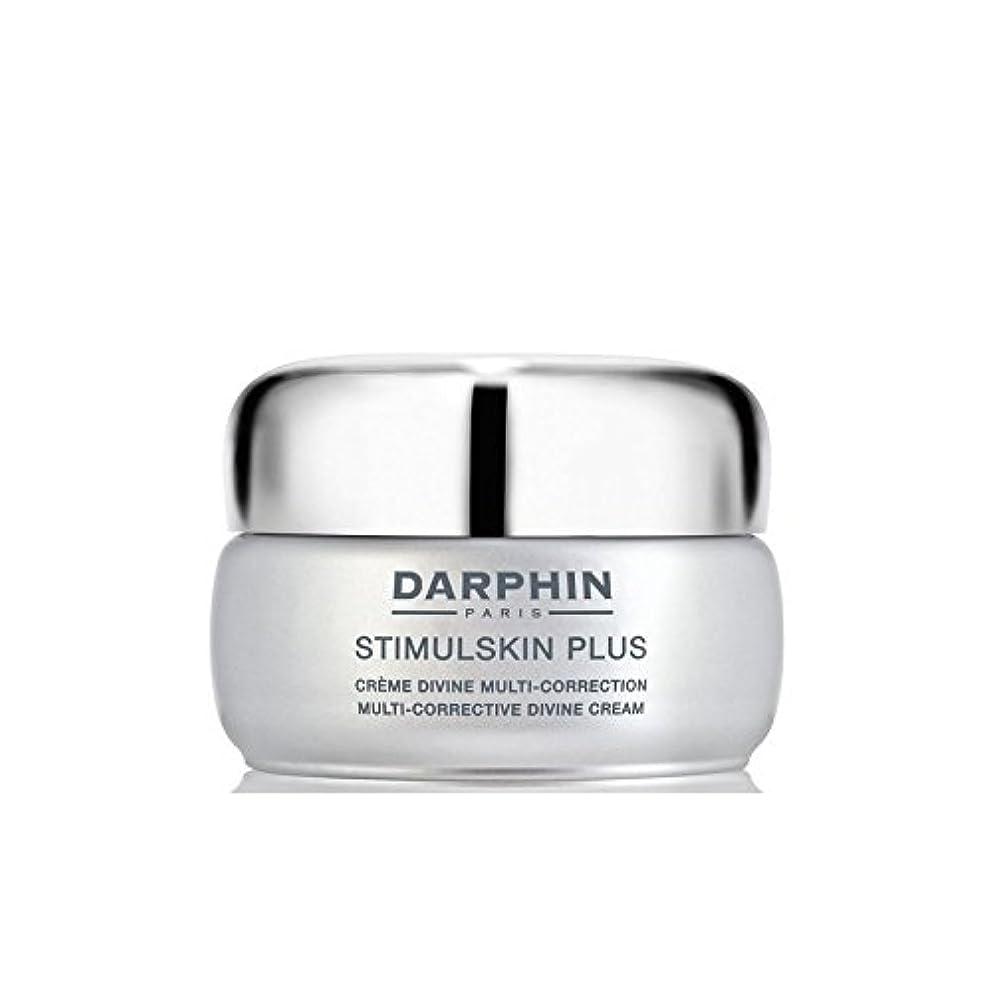 うぬぼれたやめる実験ダルファンスティプラスマルチ是正神のクリーム x4 - Darphin Stimulskin Plus Multi-Corrective Divine Cream (Pack of 4) [並行輸入品]