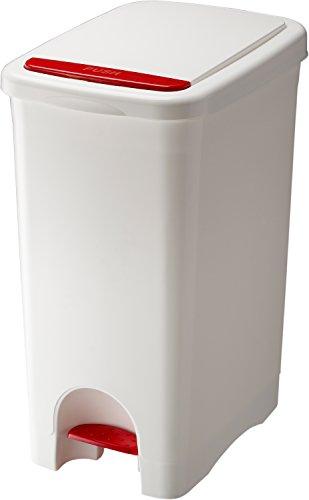 リス ゴミ箱 アルバーノ プッシュペタルペール 45L ホワイト