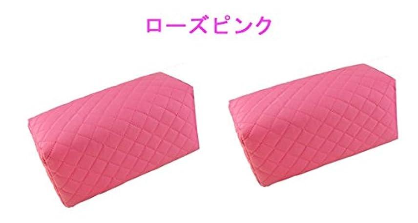 なぜ皿カセットHANAオリジナル アームレスト2個組 選べる2色!(ローズピンク)