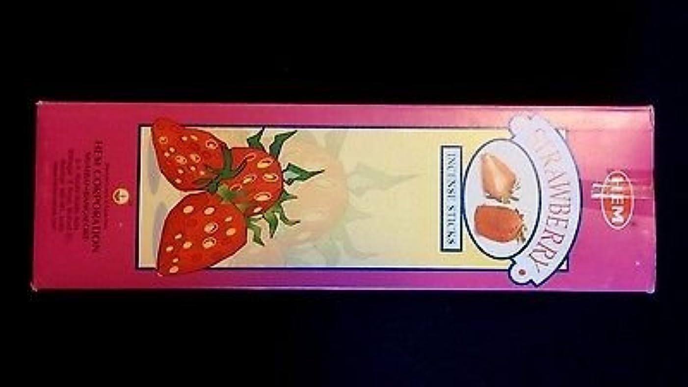 委員会スコットランド人よろめくStrawberry 25ボックスof 8 = 200裾Incense Sticksバルクケース小売表示