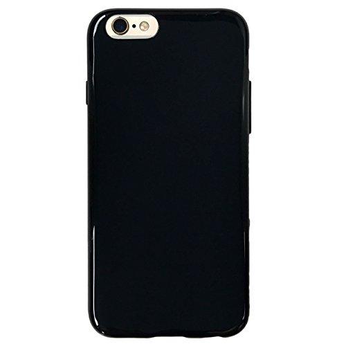 iPhone6s / iPhone6 【 黒TPU 】 ソフ...