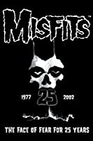 """"""" Misfits–25年–The Face of Fear """"–冷蔵庫マグネット"""