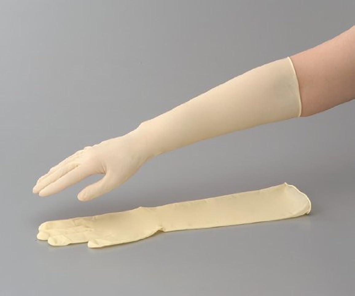 国勢調査デンマーク共役ラテックスロング手袋(スーパーロング) No.336 L 1袋(50枚入)