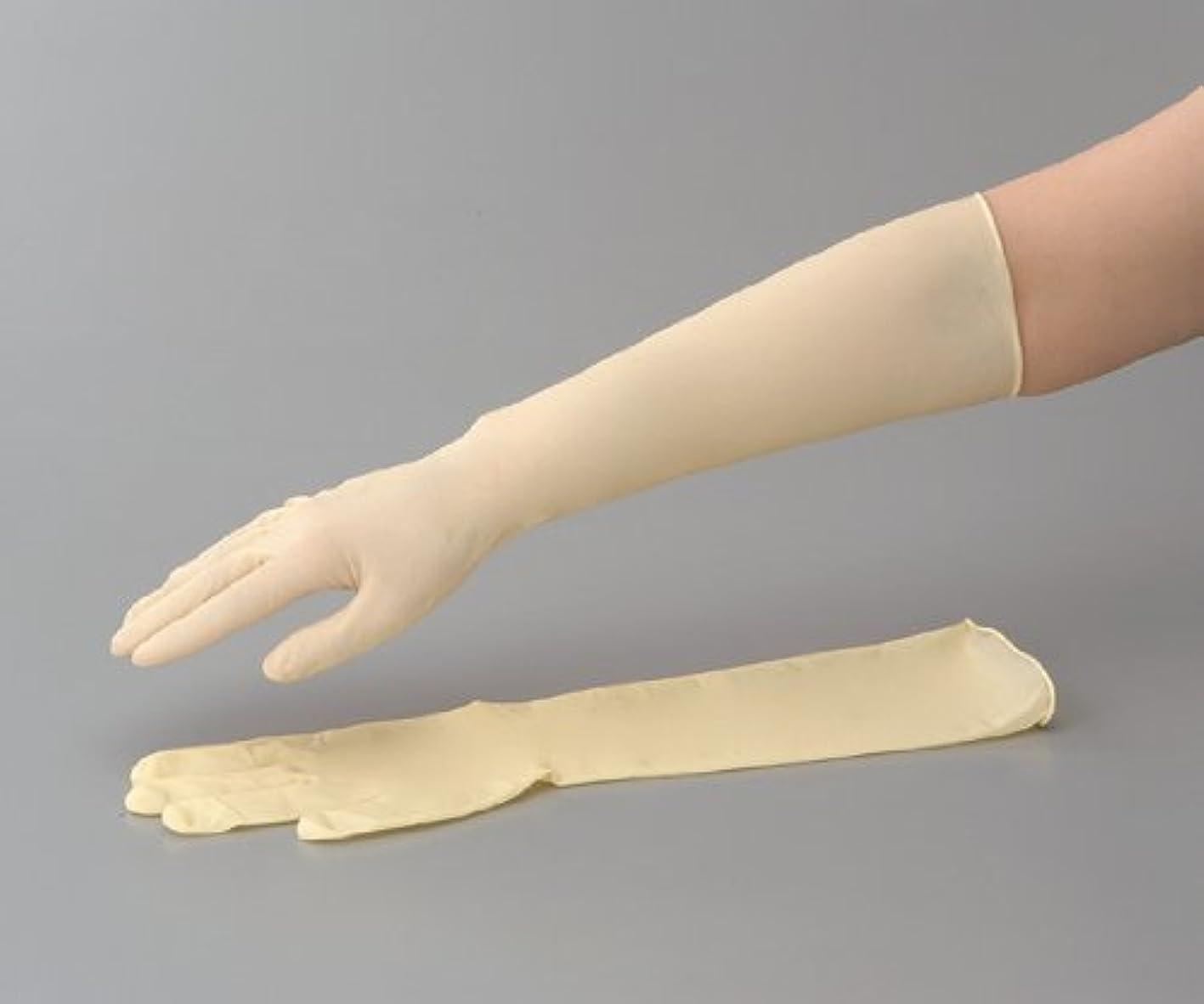 サンダースにおい競うラテックスロング手袋(スーパーロング) No.336 M 1袋(50枚入)
