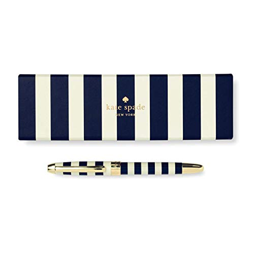 Kate spade new york) <br />she always has something to declare point pen<br />NAVY STRAIP185450