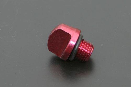 カメレオンファクトリー YAMAHA系 アルミ削り出しOILフィラーキャップ(レッドアルマイト) FR002R