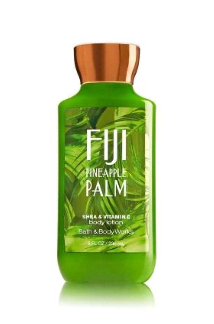 ロータリー役立つめまい【Bath&Body Works/バス&ボディワークス】 ボディローション フィジーパイナップルパーム Body Lotion Fiji Pineapple Palm 8 fl oz / 236 mL [並行輸入品]