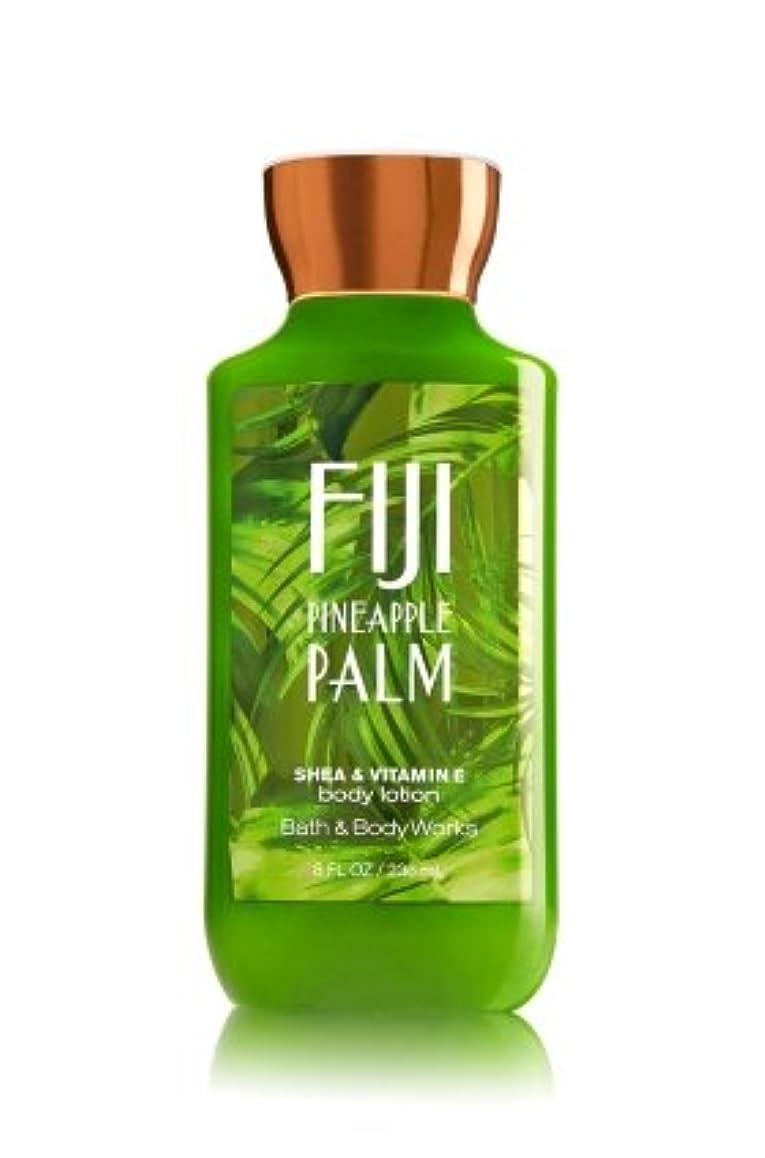 クロニクル章傾いた【Bath&Body Works/バス&ボディワークス】 ボディローション フィジーパイナップルパーム Body Lotion Fiji Pineapple Palm 8 fl oz / 236 mL [並行輸入品]