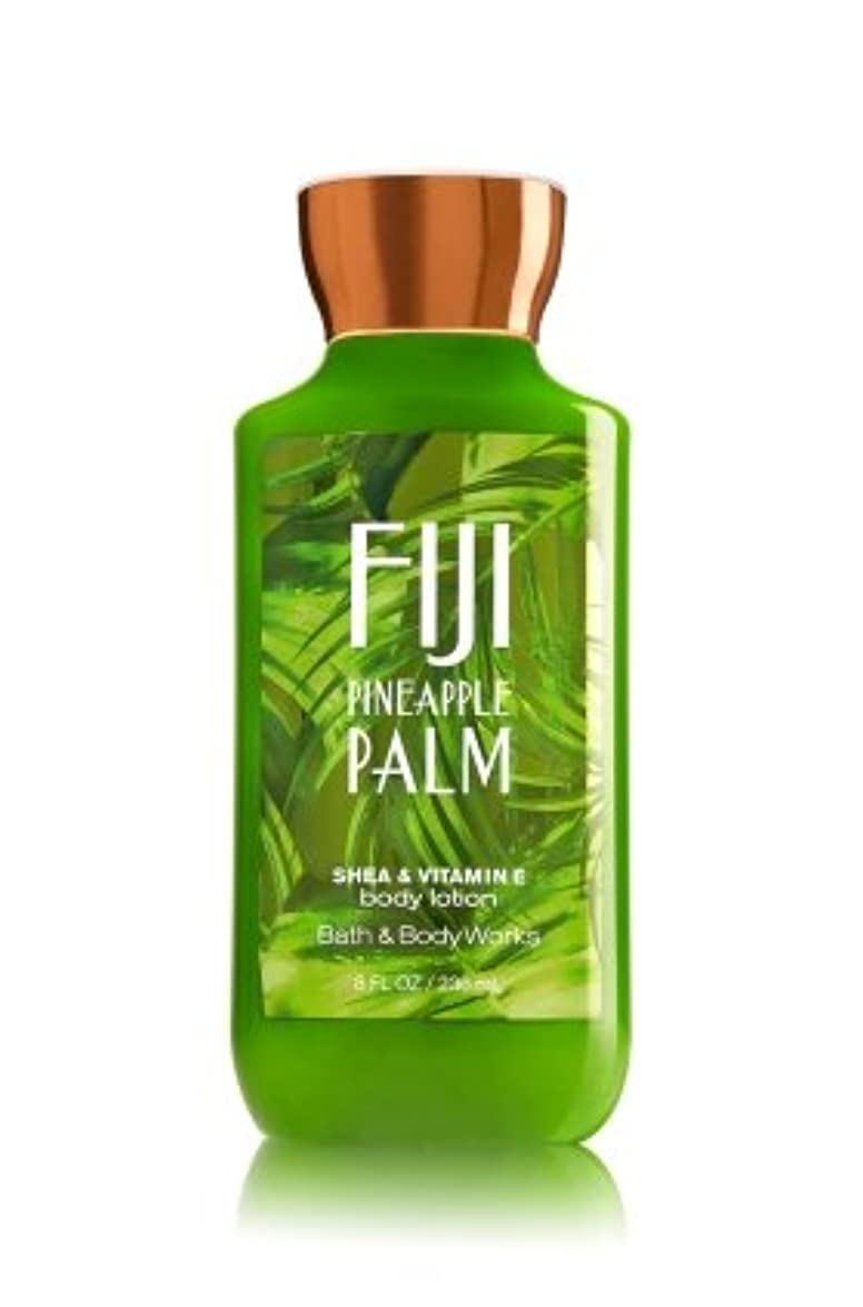 ハウス眩惑するブート【Bath&Body Works/バス&ボディワークス】 ボディローション フィジーパイナップルパーム Body Lotion Fiji Pineapple Palm 8 fl oz / 236 mL [並行輸入品]