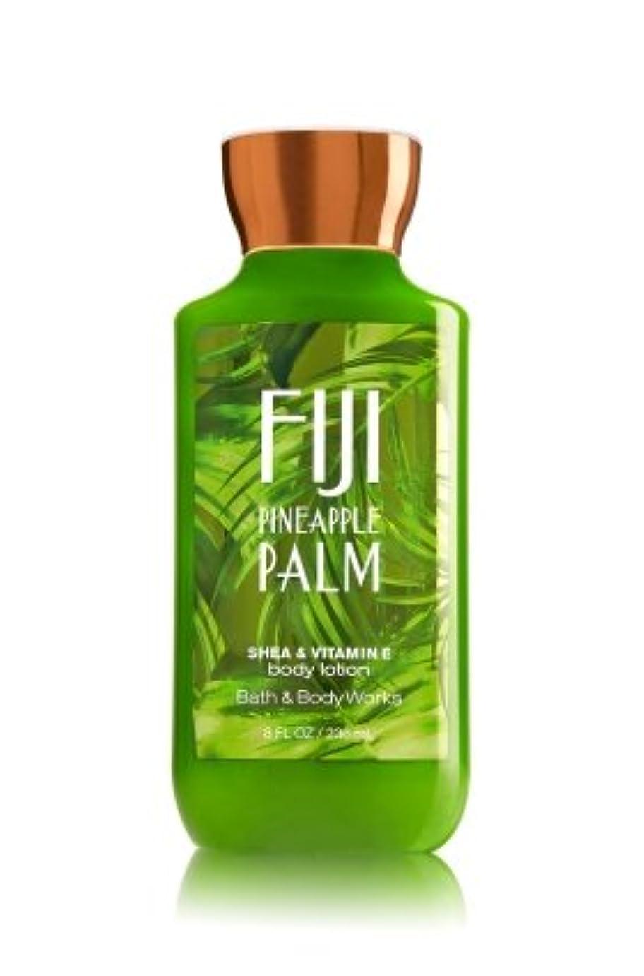 不健康荒らすミント【Bath&Body Works/バス&ボディワークス】 ボディローション フィジーパイナップルパーム Body Lotion Fiji Pineapple Palm 8 fl oz / 236 mL [並行輸入品]