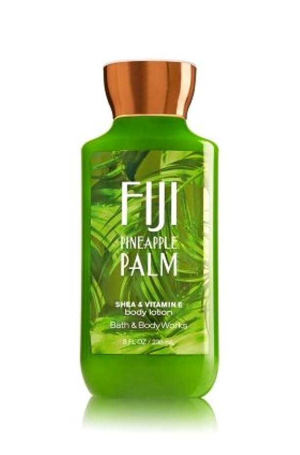 アブストラクト交換指導する【Bath&Body Works/バス&ボディワークス】 ボディローション フィジーパイナップルパーム Body Lotion Fiji Pineapple Palm 8 fl oz / 236 mL [並行輸入品]