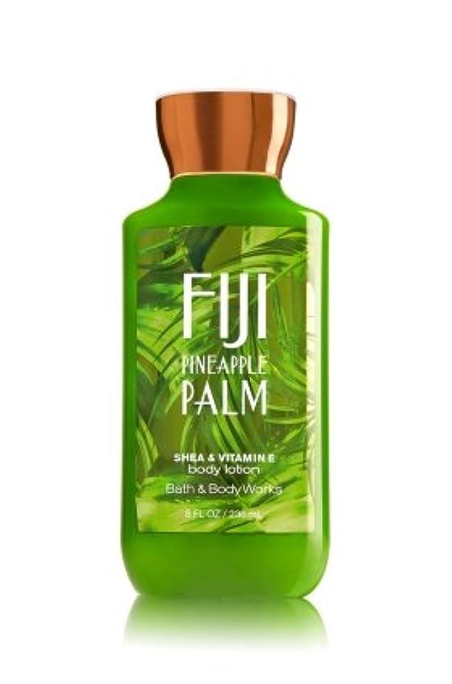川第九変換【Bath&Body Works/バス&ボディワークス】 ボディローション フィジーパイナップルパーム Body Lotion Fiji Pineapple Palm 8 fl oz / 236 mL [並行輸入品]