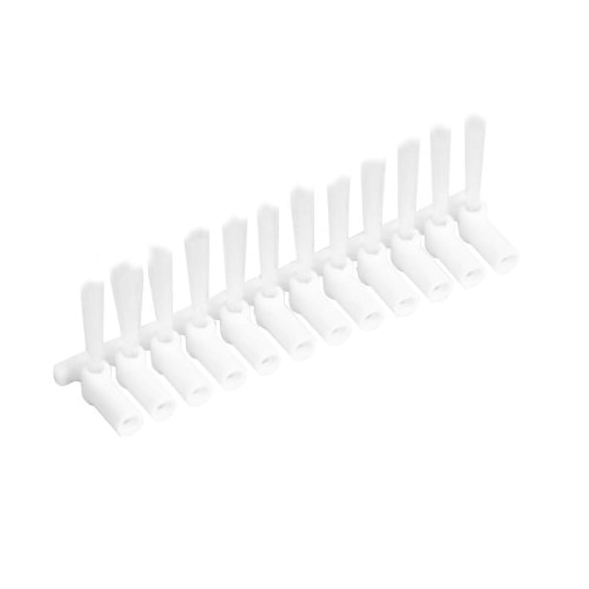 ファックスエンドテーブル接続された山善 電動歯間ブラシ デンタルペッカー専用替ブラシ 12本(専用保管ケース付) DPK-10