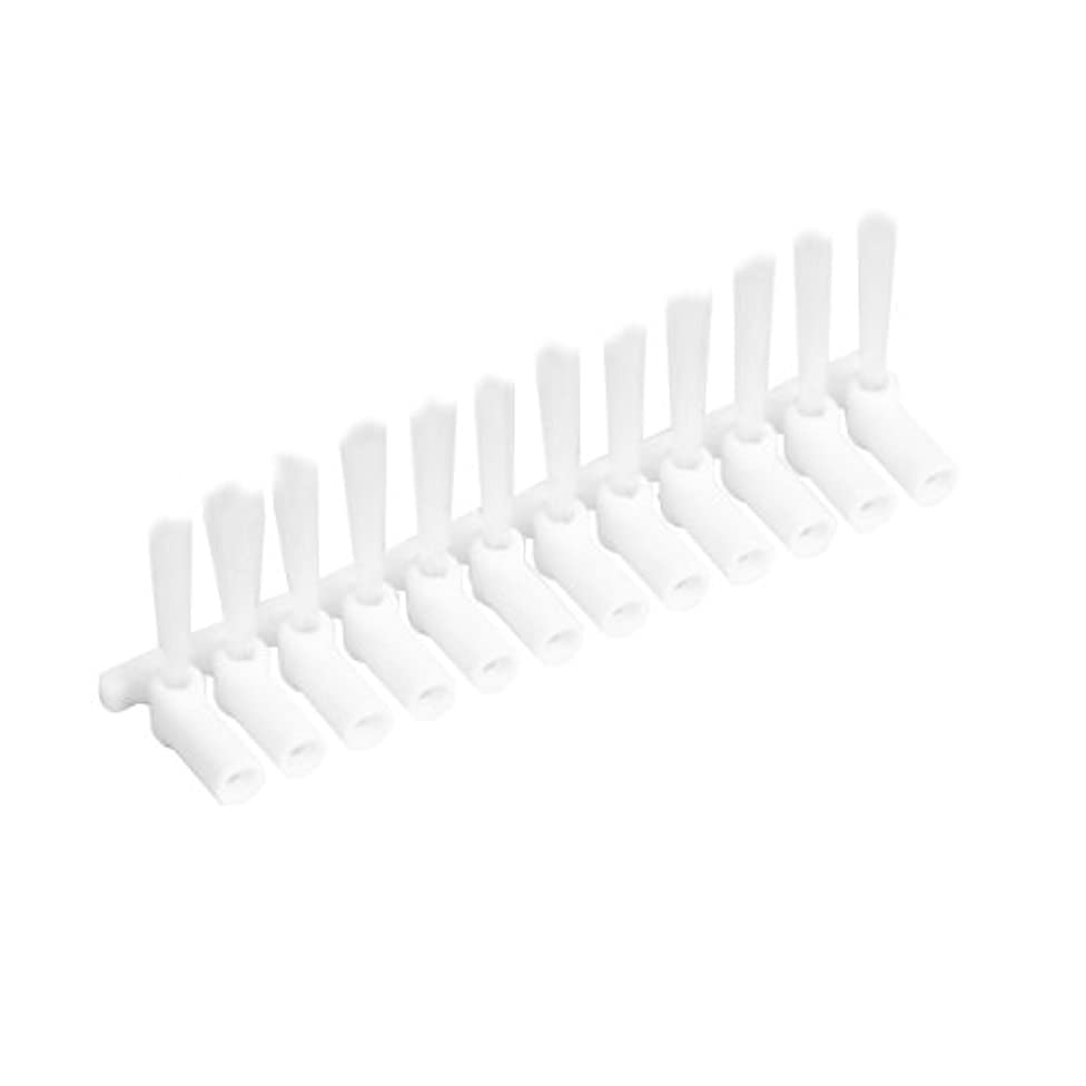 配る準備した起こる山善 電動歯間ブラシ デンタルペッカー専用替ブラシ 12本(専用保管ケース付) DPK-10