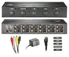 Universal System Selector with Rf Modulator 5-WAY (輸入版)