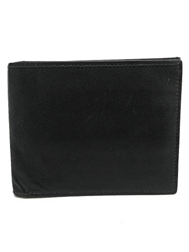 HERMES(エルメス) シルクイン シチズンツイル 二つ折り財布 黒 ブラック レザー 【ブランド財布】 【中古】 netshop