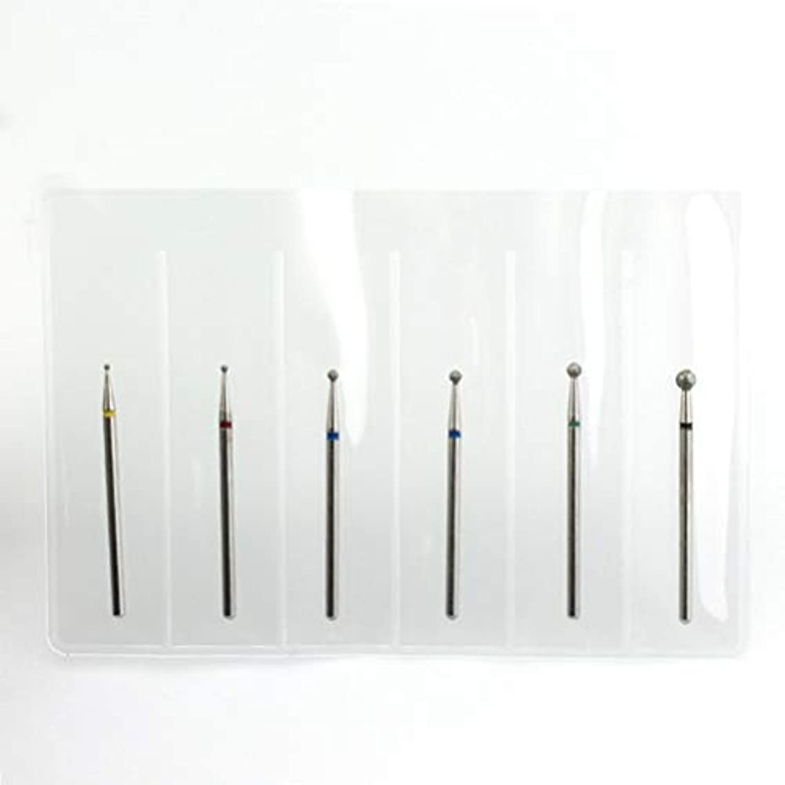 欲求不満幻影課税Yoshilimen 安定した6 pcs/セットステンレス鋼釘ドリルビットセット(None SET11H2)