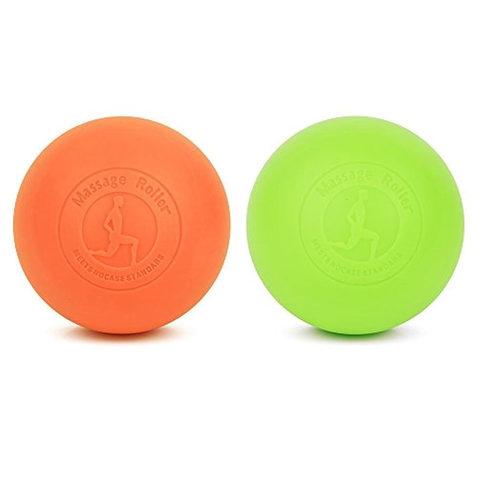 ONNSERR 深い筋肉のリラクゼーションマッサージボール トリガーポイント マッサージボール 指圧ボールマッスルマッサージボール、筋膜球 運動後に筋肉の痛みを和らげるのがよい