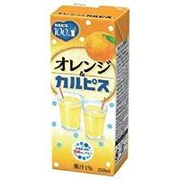 〔飲料〕 エルビー オレンジ&カルピス 250ml 2ケース (1ケース24本入)(250パック)(CALPIS)