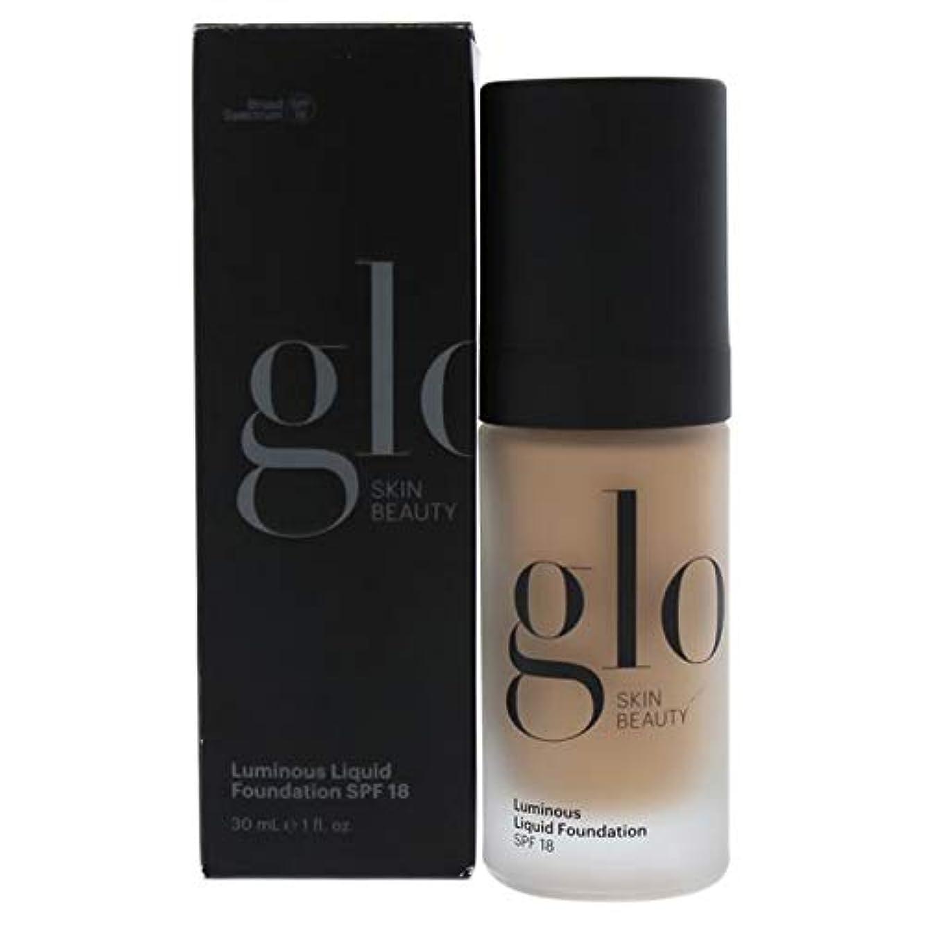 表示前に前件Glo Skin Beauty Luminous Liquid Foundation SPF18 - # Almond 30ml/1oz並行輸入品