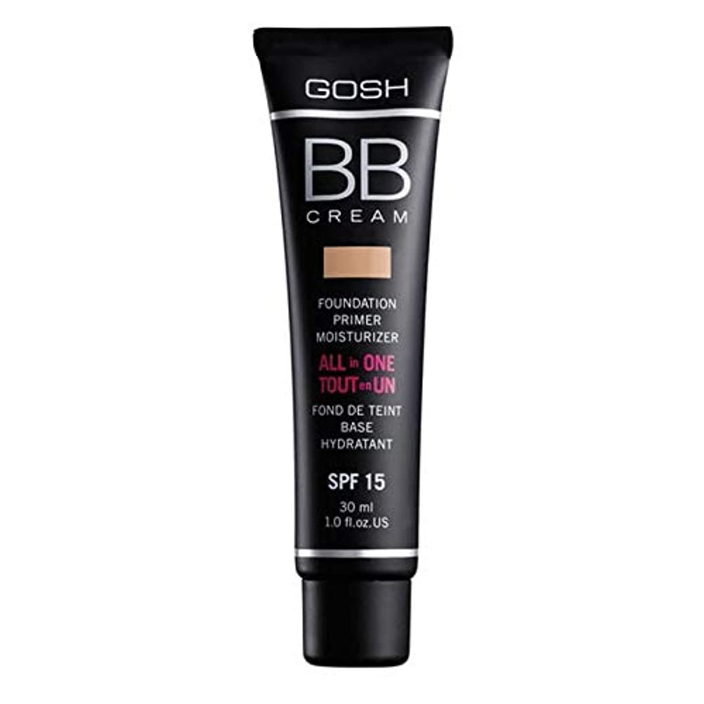 制限繁雑毒液[GOSH ] おやっBbクリーム暖かいベージュ3 - Gosh BB Cream Warm Beige 3 [並行輸入品]