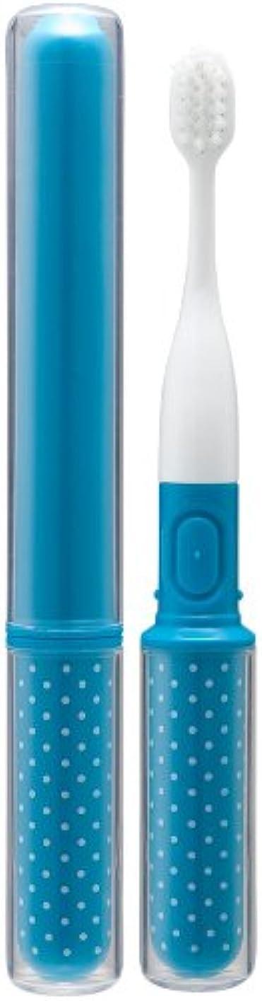 起訴するフルート蒸留Gクラッセ Toffy コンパクト音波振動歯ブラシ ソーダブルー