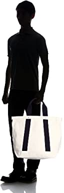 Authentic Canvas Tote Bag Made in USA 118-48-0018: Natural