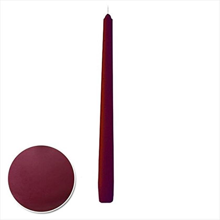 カメヤマキャンドル( kameyama candle ) 12インチテーパー 「 ボルドー 」 12本入り