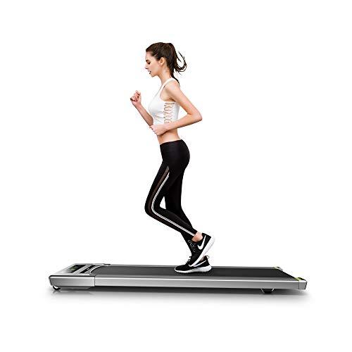 fitbill f.walk ウォーキングマシン 電動ウォーカー 薄型 アプリ連携 折りたたみ ルームランナー ランニングマシン … (ハンドル付き)