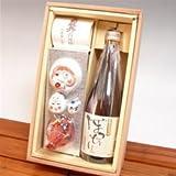 高知の地酒 土佐宴会セット 純米酒ぼっちり 720ml×1本 べく杯一式