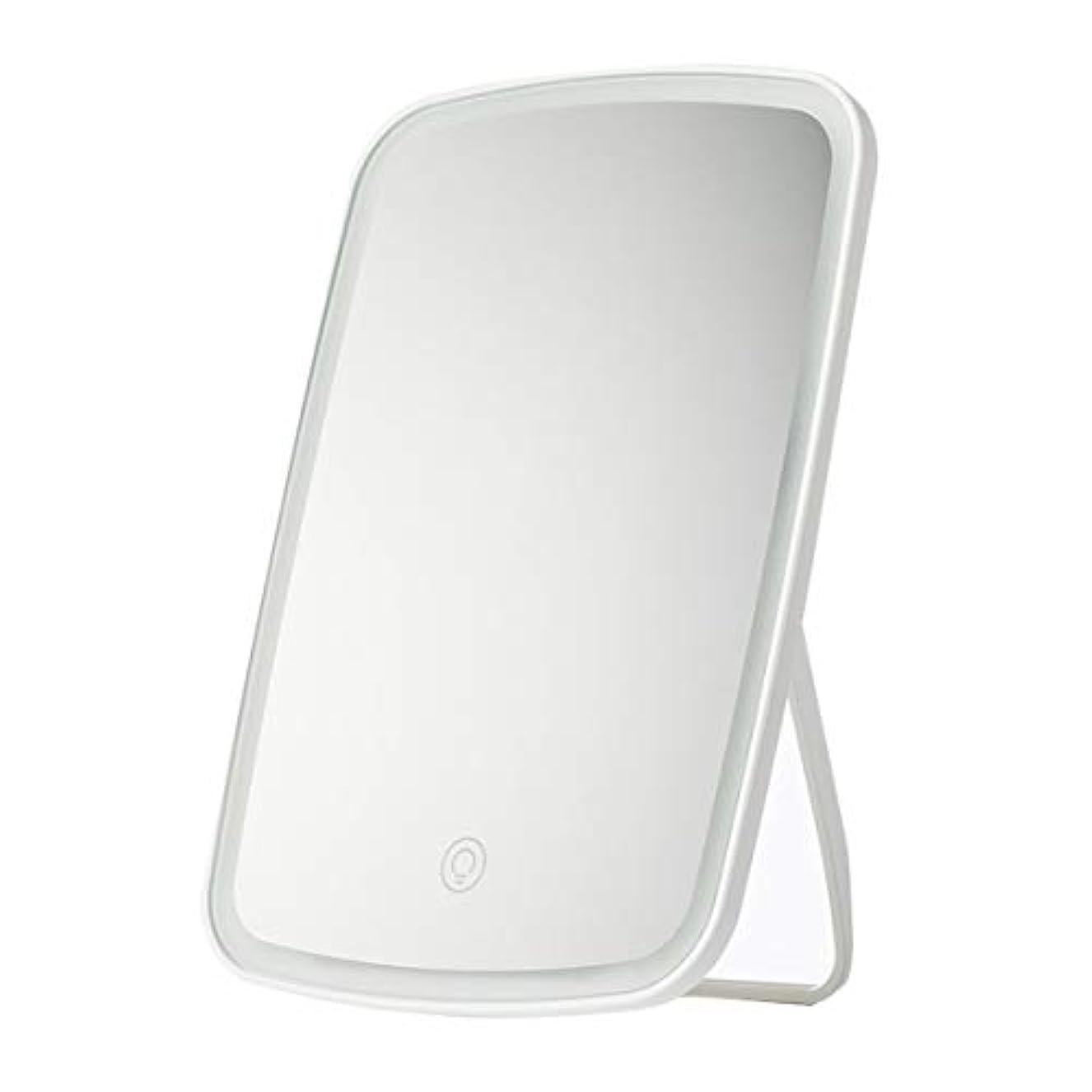 スチュワーデスペルメル郵便屋さんInteriay for Xiaomi化粧鏡Mi Jiayou Goods Jotun Judy Led化粧鏡デスクトップポータブル充電折りたたみフィラー