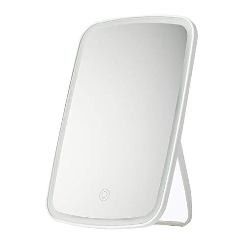準備した相互接続ジャンプInteriay for Xiaomi化粧鏡Mi Jiayou Goods Jotun Judy Led化粧鏡デスクトップポータブル充電折りたたみフィラー