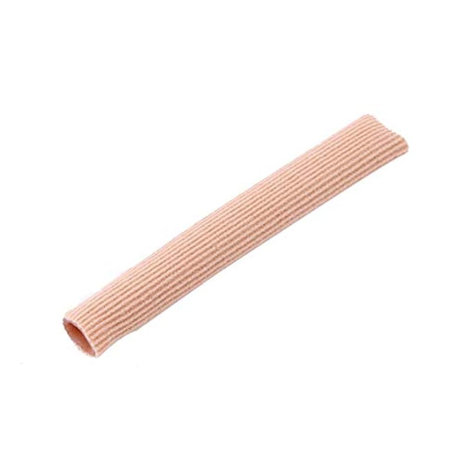 昇る残り快いファブリックジェルチューブ包帯指&つま先保護足の足の痛みを軽減15CMフィートガード用足の保護用インソール